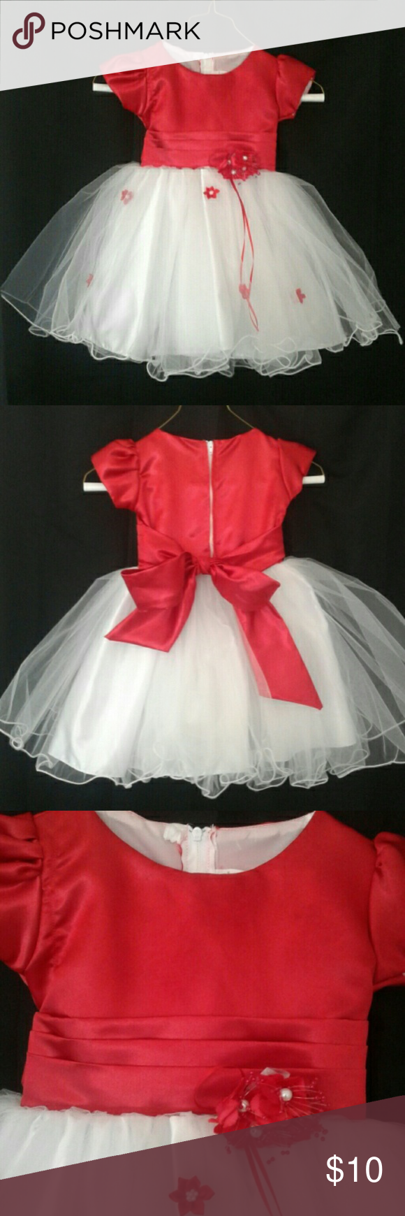 a986bc49a0f Berto Kids tulle  poof  dress size 1  12m-18m Precious lined