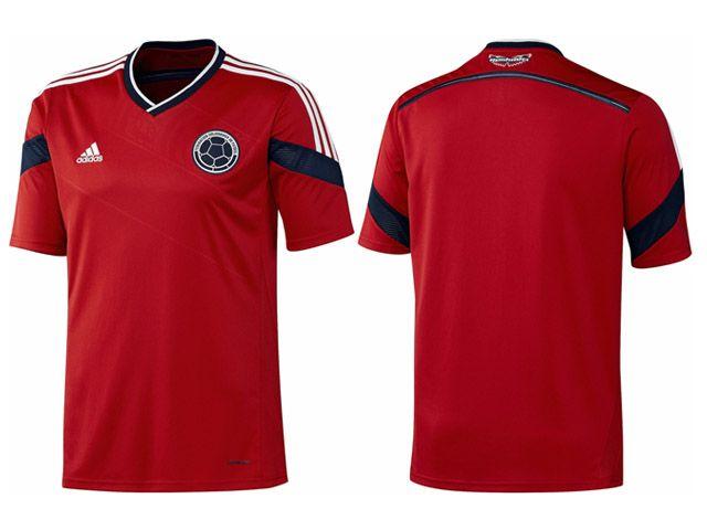 Camisa reserva da Colombia 2014-2015 Copa do Mundo 50f2cc555affc