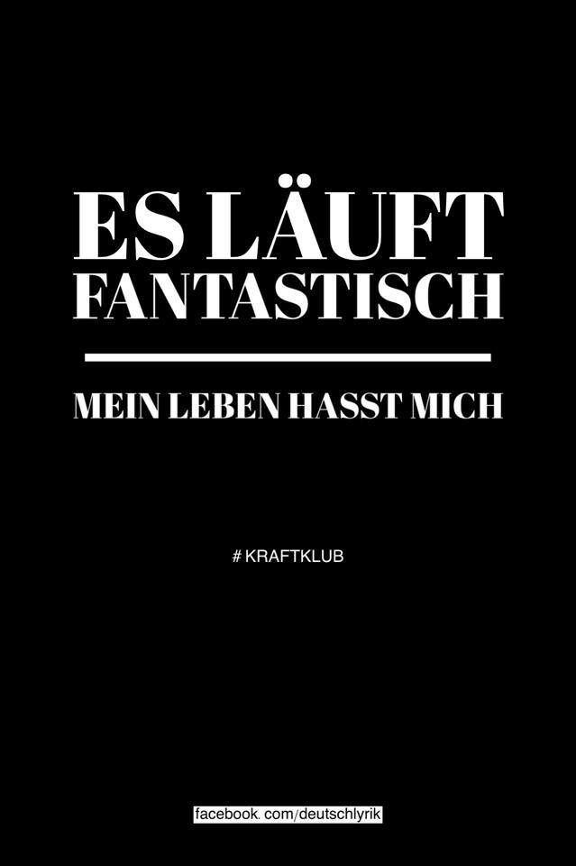 KRAFTKLUB Lyrics Pinterest Rap Quotes, Song Quotes And Poem   Plastik Mobe  Phantastisch