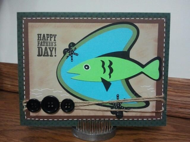 father's day made with cricut nifty fifties  sizzix cards