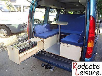 renault kangoo micro camper diesel 2 berth small 1 5 dci. Black Bedroom Furniture Sets. Home Design Ideas