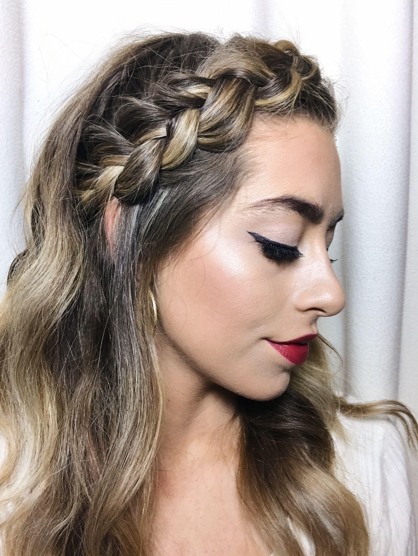 braided hairstyles makeup long hair HAIR YOU GO