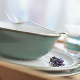 Denby Regency Green Green Collection Stoneware Dinnerware Denby