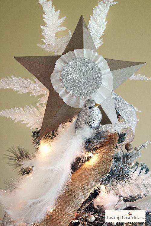 DIY Star  DIY Christmas Tree Star Ornaments DIY Star Pinterest