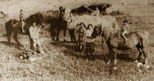 О старинных цыганских фотографиях.