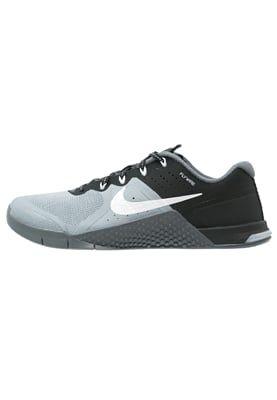 Útil Grupo Bocadillo  Nike Performance METCON 2 - Sports shoes - white/black/dark grey - Zalando.co.uk  | Shoes, Sports shoes, Black