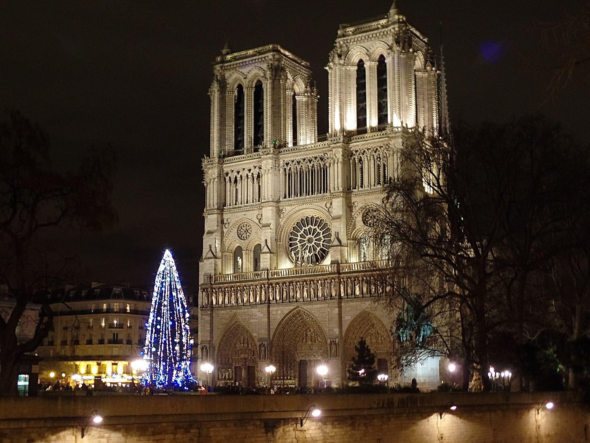 Notre Dame in Paris - Christmas 2014