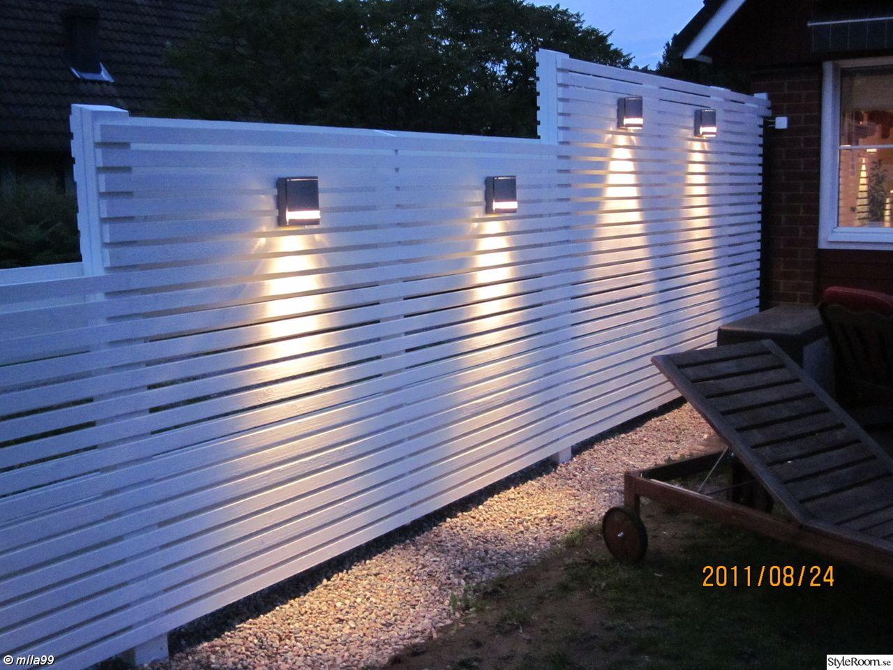 Trädgård plank trädgård : Med belysning | trädgÃ¥rd | Pinterest | Plank