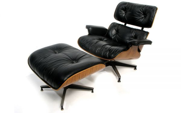 Design Charles And Ray Eames 1956 Rosewood Leather Aluminum