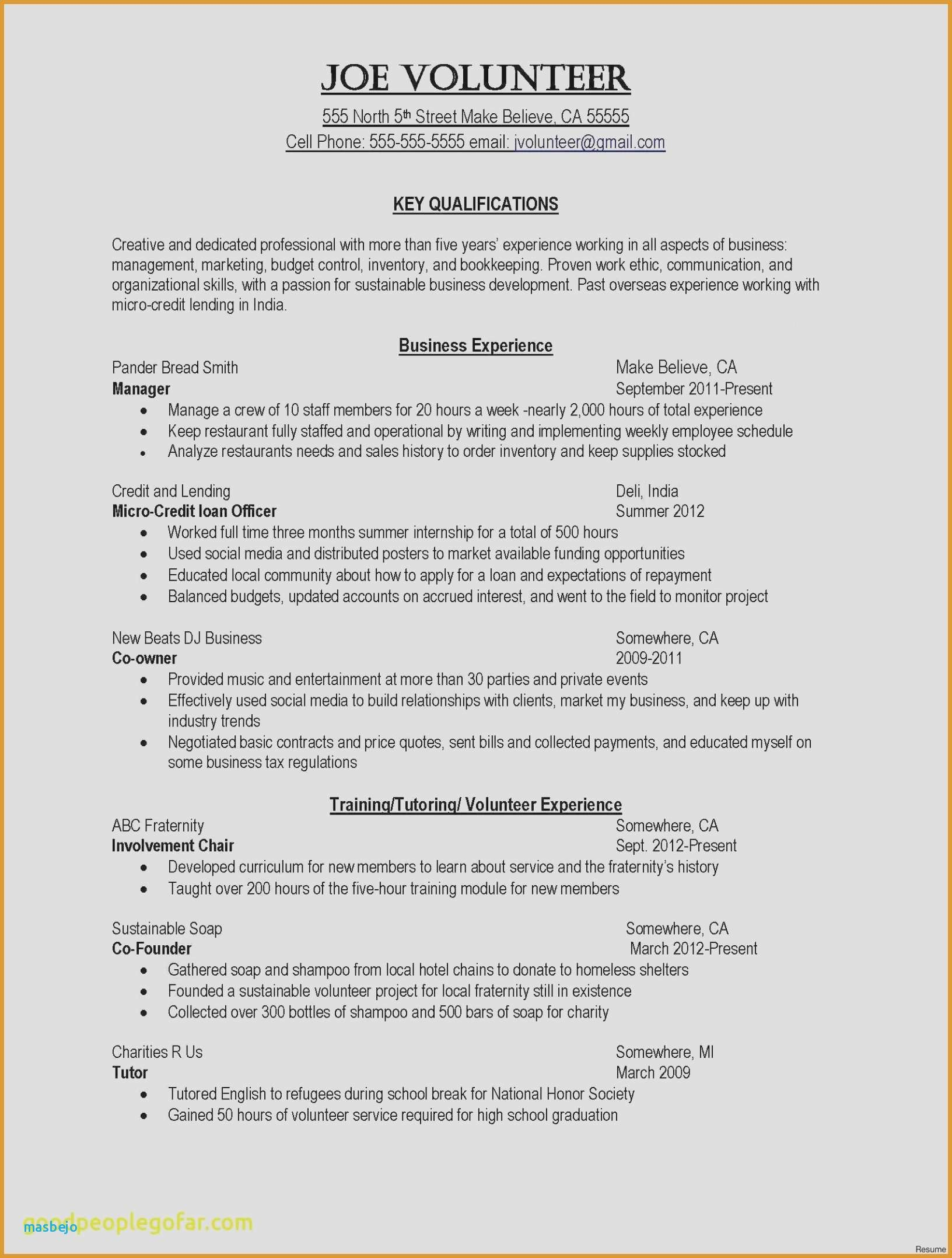 So as to be noticed, a resume letter is important. The very ...