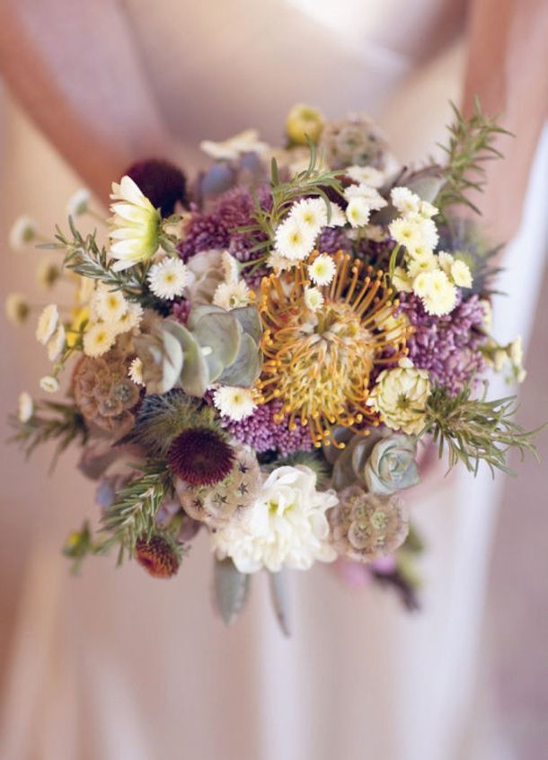 009-SBB-25-fresh-pincushion-protea-bouquets - #009-SBB-25-fresh-pincushion-protea-bouquets