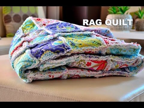 Rag Quilt Patchwork Videonvod YouTube Videos Pinterest