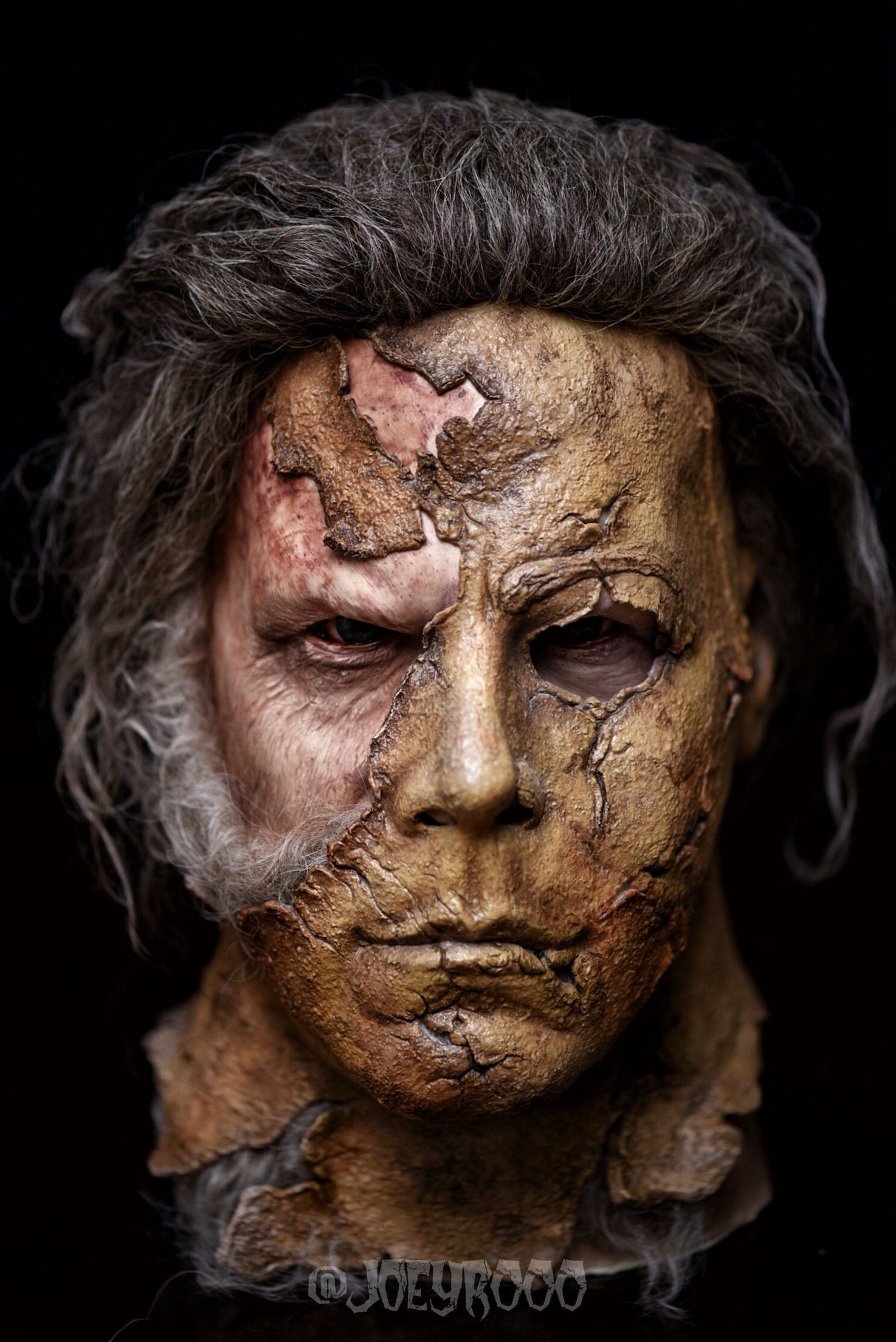 Halloween 2 Rob Zombie Mask.Dark Half Mask From Rob Zombie S Halloween 2 Photo Taken By