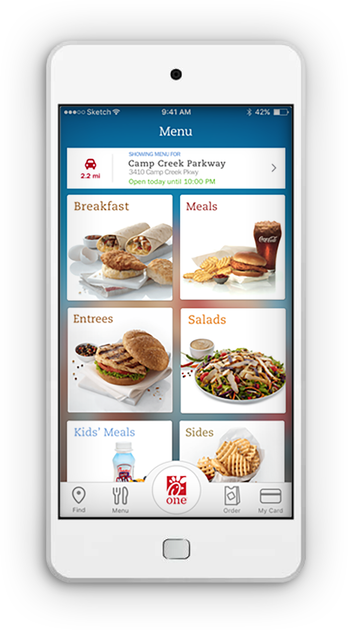 Chick-fil-A App Order delicious Chick-fil-A on the go . Follow ...