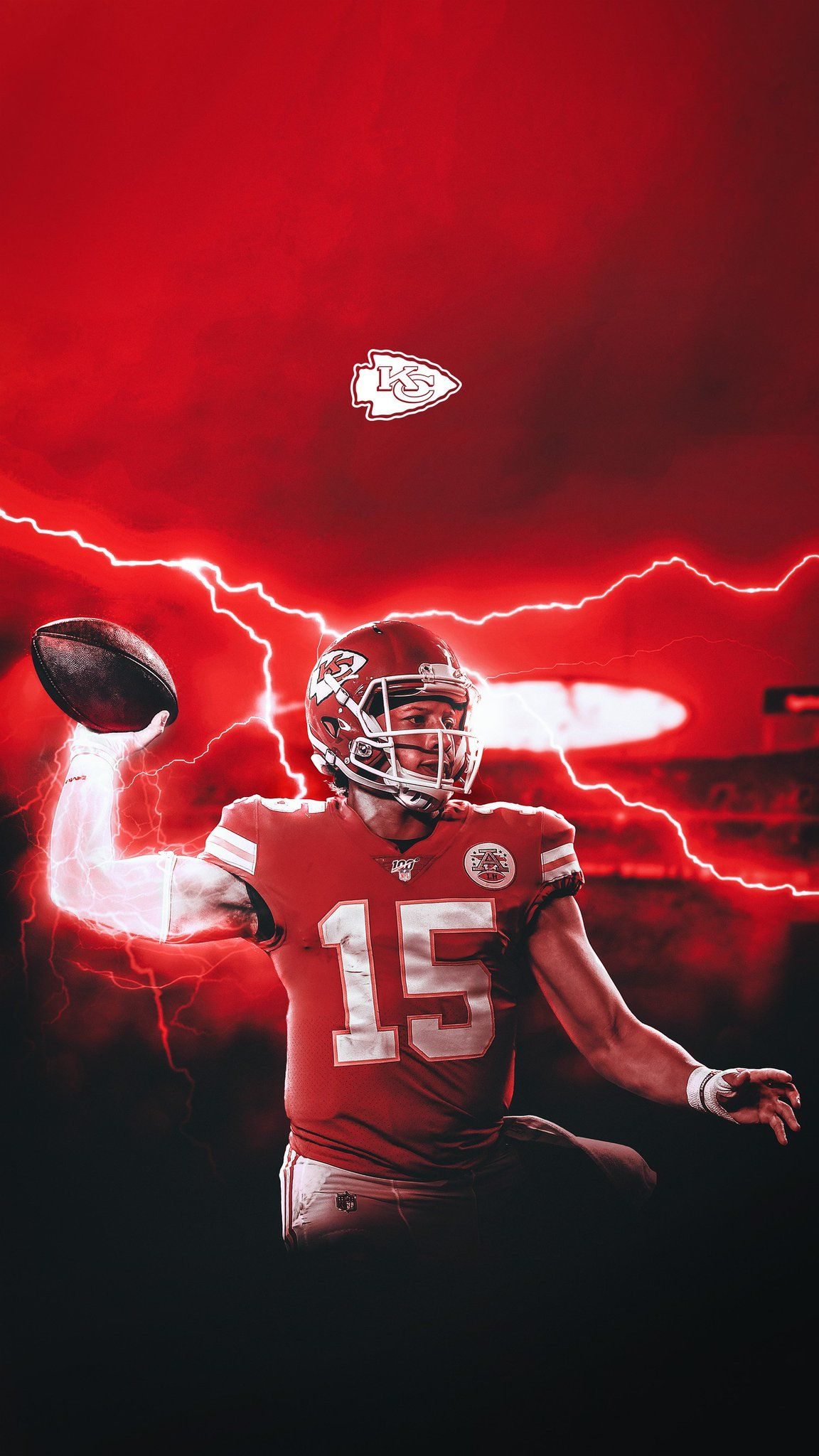 Chiefs Mahomes Wallpapers Nfl Chiefskingdom 15 In 2020 Kansas City Nfl Chiefs Wallpaper Kansas City Chiefs Football