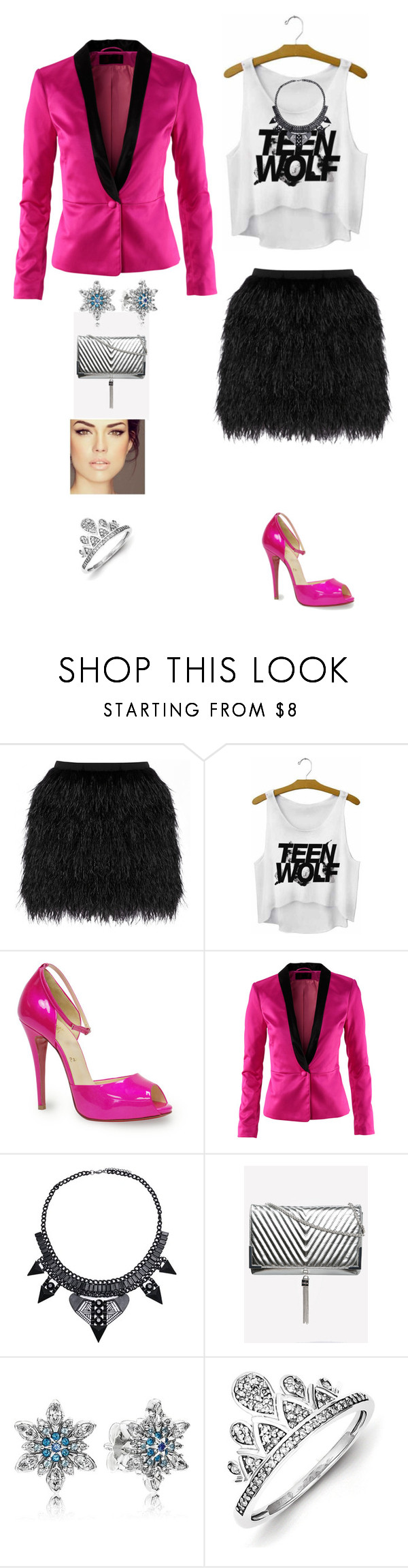 """Rock baby!"" by princesaurbana ❤ liked on Polyvore featuring Raoul, Christian Louboutin, H&M, Pandora and Kevin Jewelers"