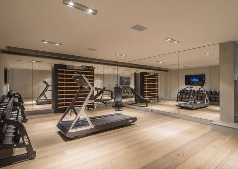 Creating A Home Gym That Makes You Want To Exercise Https Freshome Com Creating Home Gym Gym Room At Home Modern Home Gym Home Gym Design