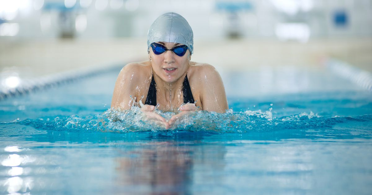 Of the four competition strokes in swimming backstroke