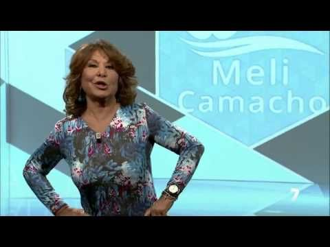 Colaboración de Meli Camacho en Televisión Región de Murcia.