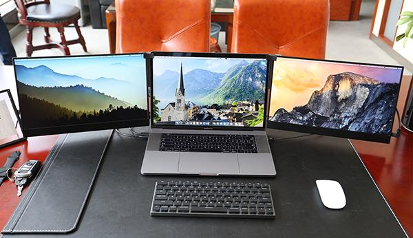Vinpok Split The Perfect On The Go Triple Touch Screen Laptop Monitor Laptop Monitor Touch Screen Laptop Laptop
