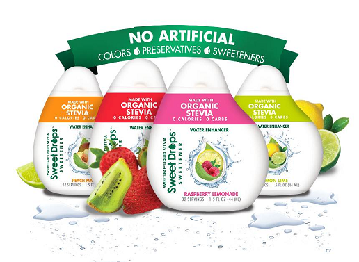Sweetleaf Stevia Will Be Showcasing New Products And Flavors At The Winter Fancy Food Show The 0 Calorie Liquid Stevia Swee Flavor Drops Stevia Flavored Water
