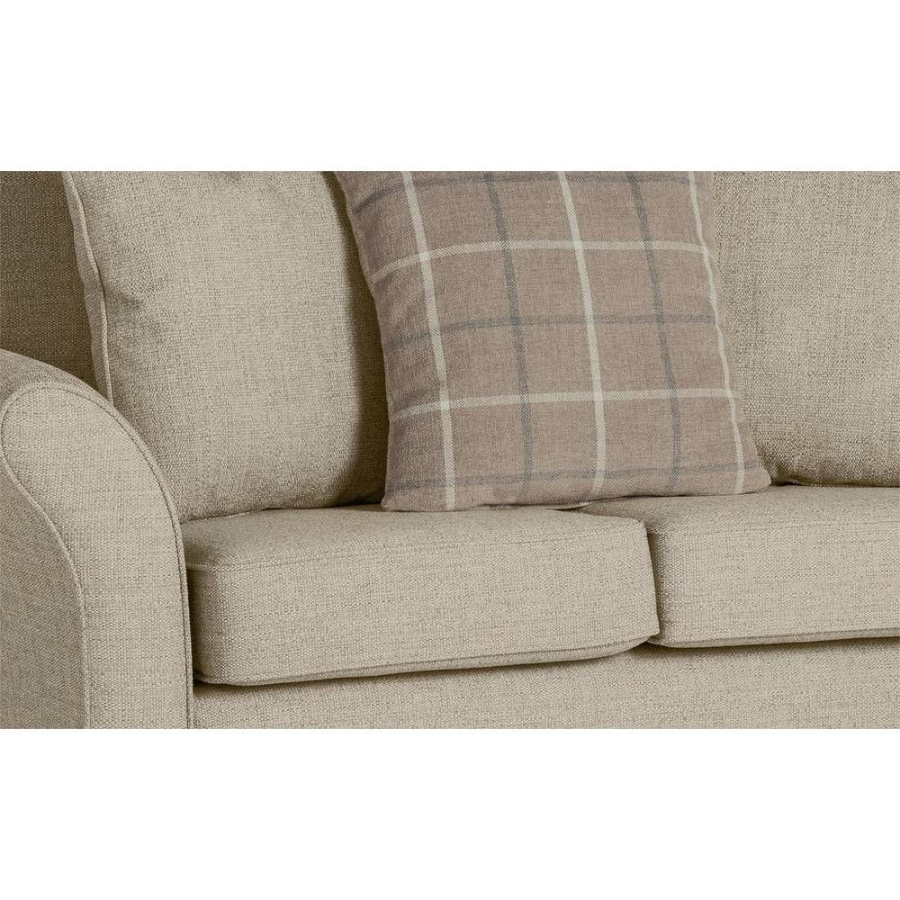 Buy Argos Home Kayla 2 Seater Scatter Back Fabric Sofa Charcoal Sofas In 2020 Beige Fabric Sofa Fabric Sofa Argos Home
