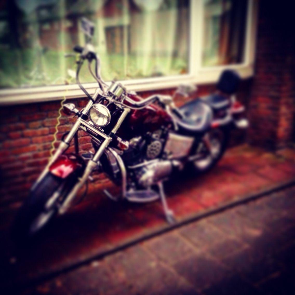 My bike: '88 Honda VT1100c