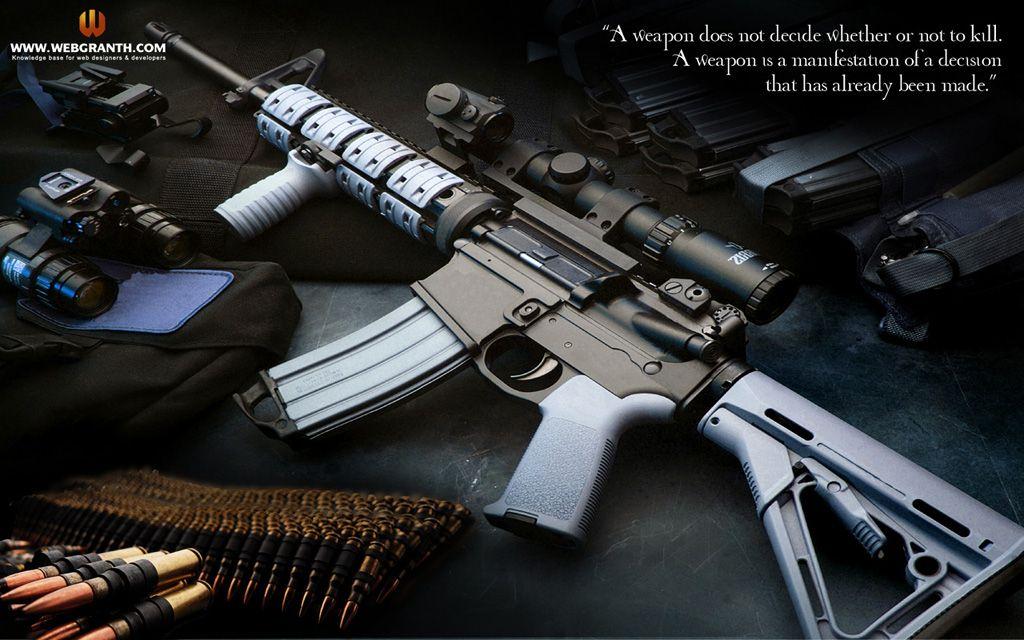 Pin On Guns Wallpapers