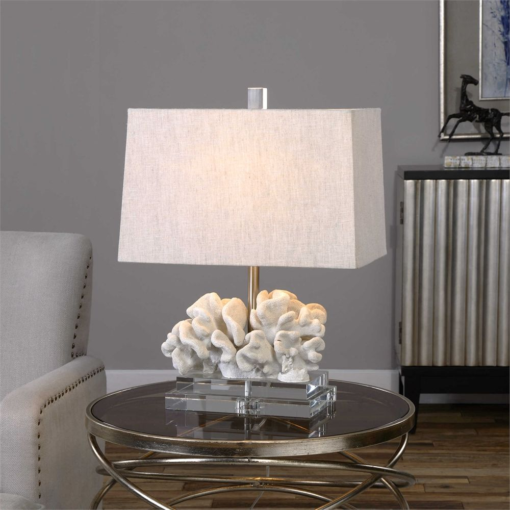 Uttermost coral sculpture table lamp carol lighting pinterest uttermost coral sculpture table lamp geotapseo Choice Image