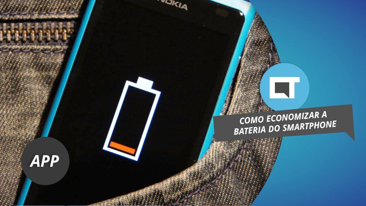 Dicas para economizar bateria do smartphone #DicaDeApp