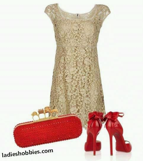 Dorado Rojo Fashion Beige Lace Dresses Dresses