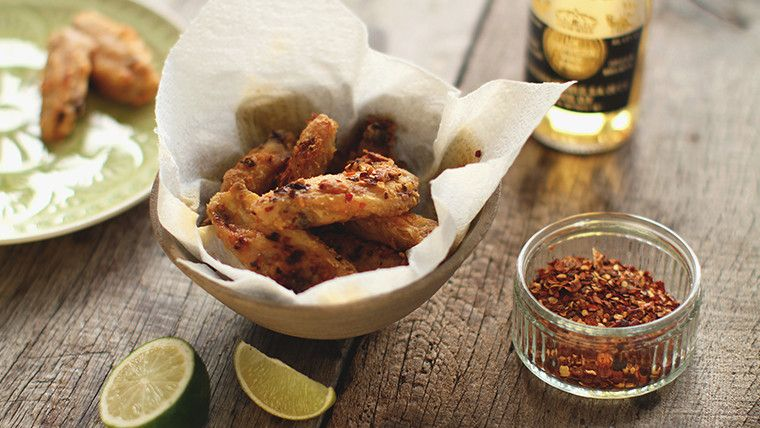 Crispy hot wings recipe indian food recipes tasty and recipes forumfinder Gallery