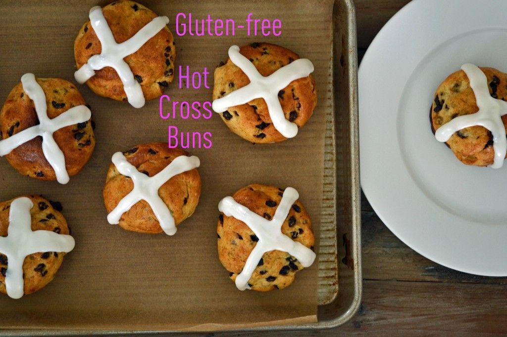 Gluten Free Hot Cross Buns Gluten Free on a Shoestring