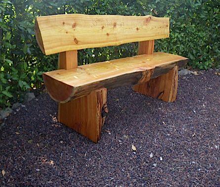 banc exterieur bois massif recherche google chalet pinterest. Black Bedroom Furniture Sets. Home Design Ideas