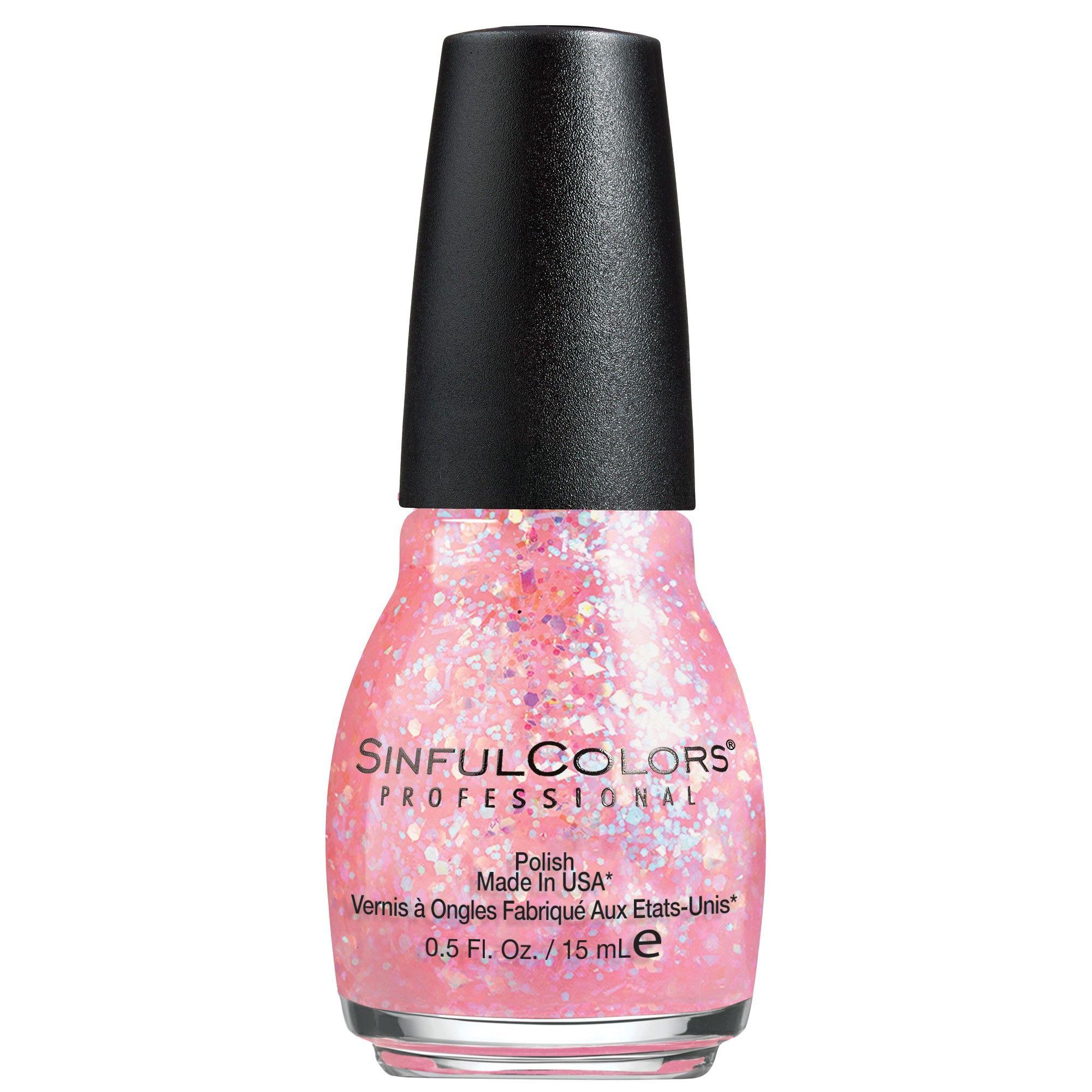 Sinful Colors Nail Polish - Pinky Glitter - 0.5 fl oz ...