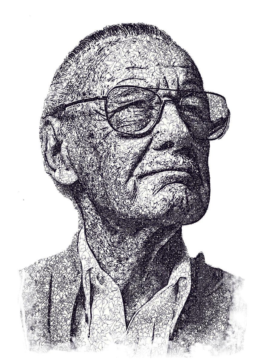 'Stan Lee' Metal Poster - baturaja vector | Displate