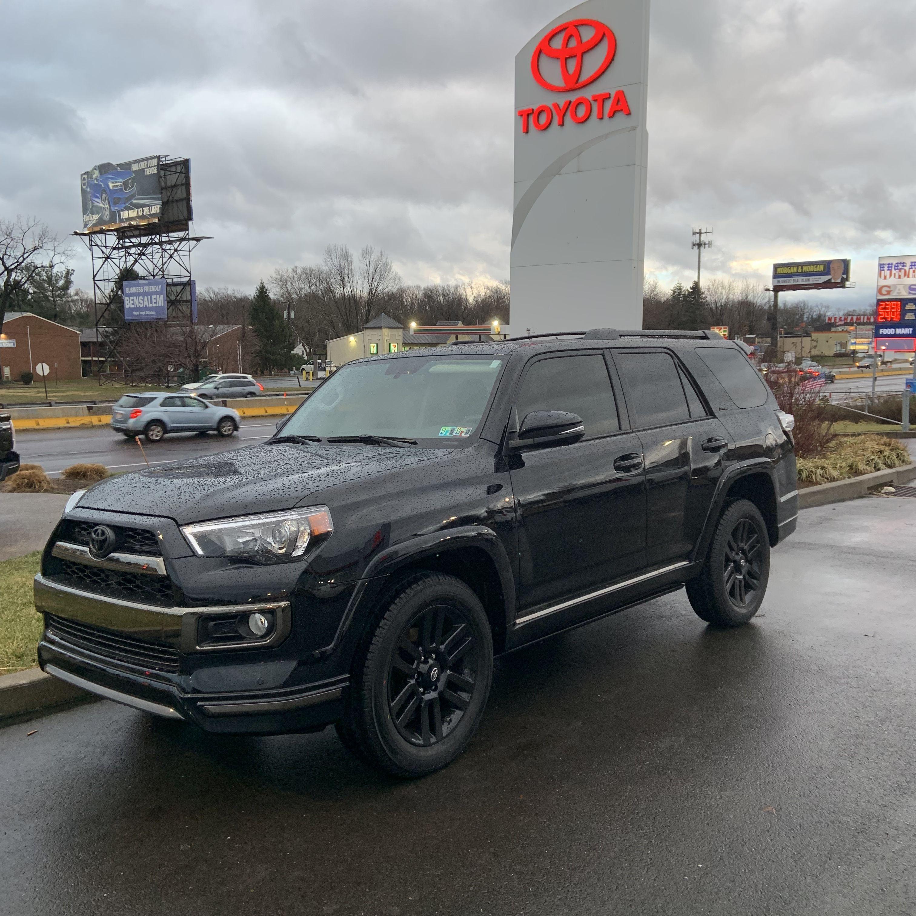2019 Toyota 4runner Limited Night Shade Toyota 4runner 4runner 4runner Limited