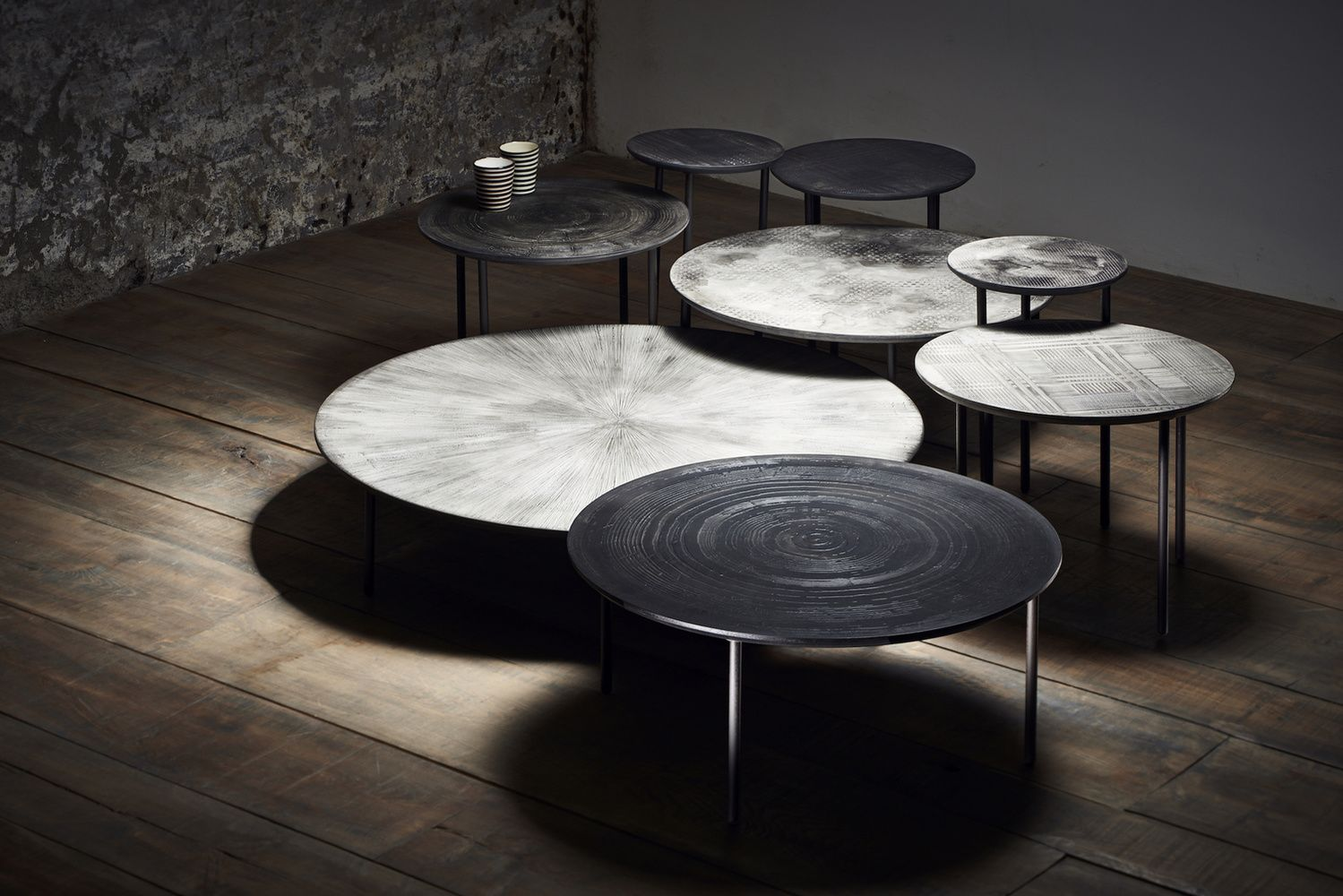 Multi Moon Mos Mom The Maison Objet Experience All Year Round Coffee Table Table Design Interior Furniture [ 1000 x 1499 Pixel ]