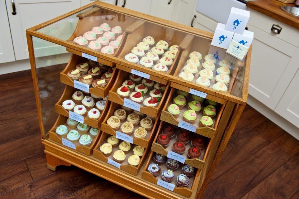 Our Cake Cabinet Is A Vintage Haberdashery We Are