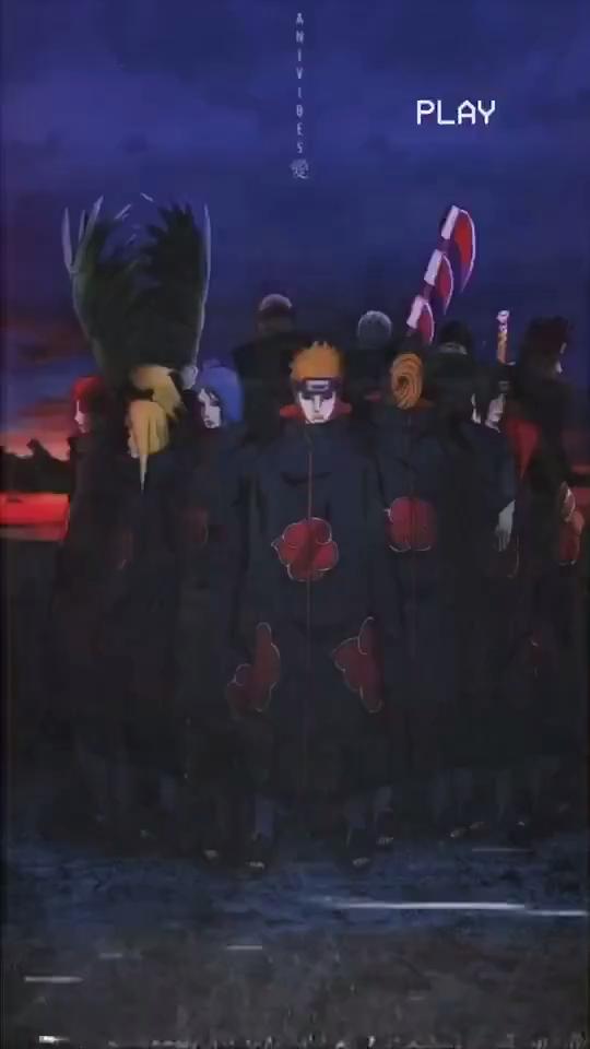 Photo of Akatsuki Aesthetic Wallpaper (Naruto)