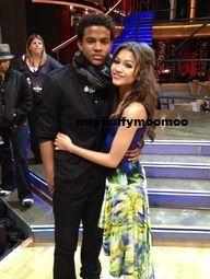 Zendaya and Trevor Jackson Dancing With The Stars ...