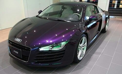 Audi Violet Luxury Car Sports Car Car Color Carros Lindos Autos Coches
