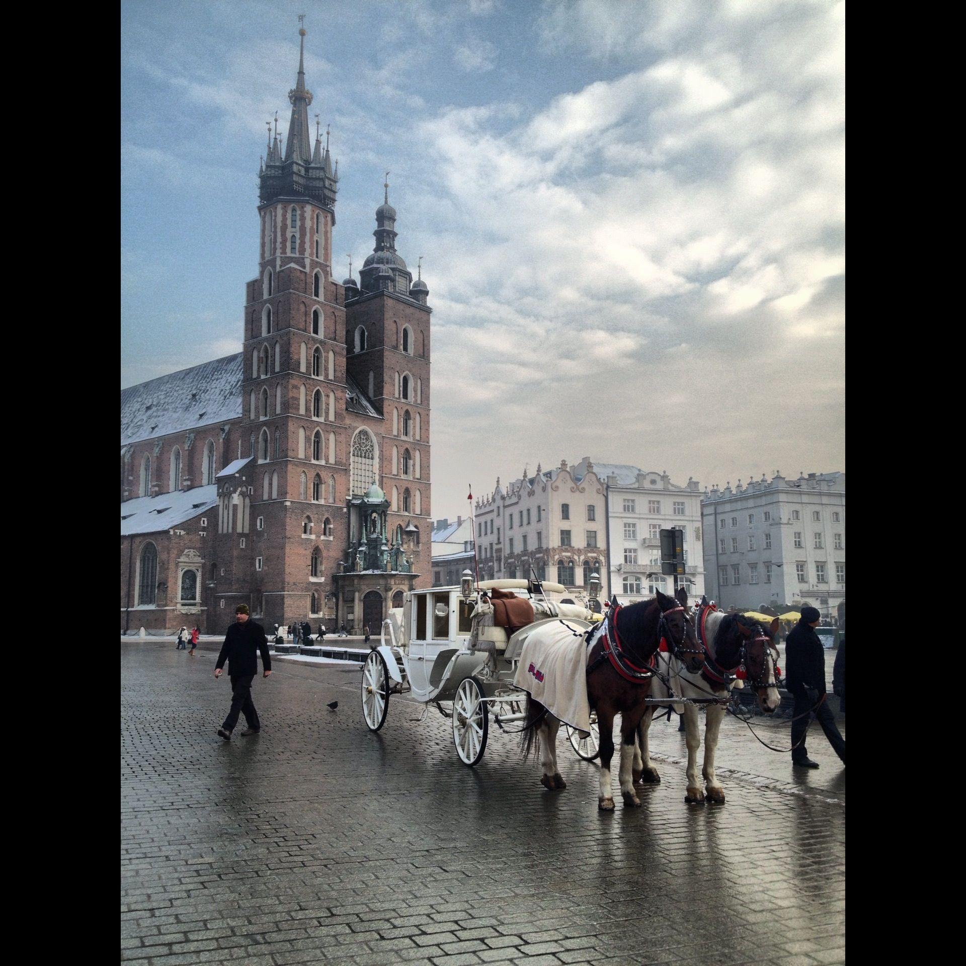 Krakow, Poland. Winter 2012.