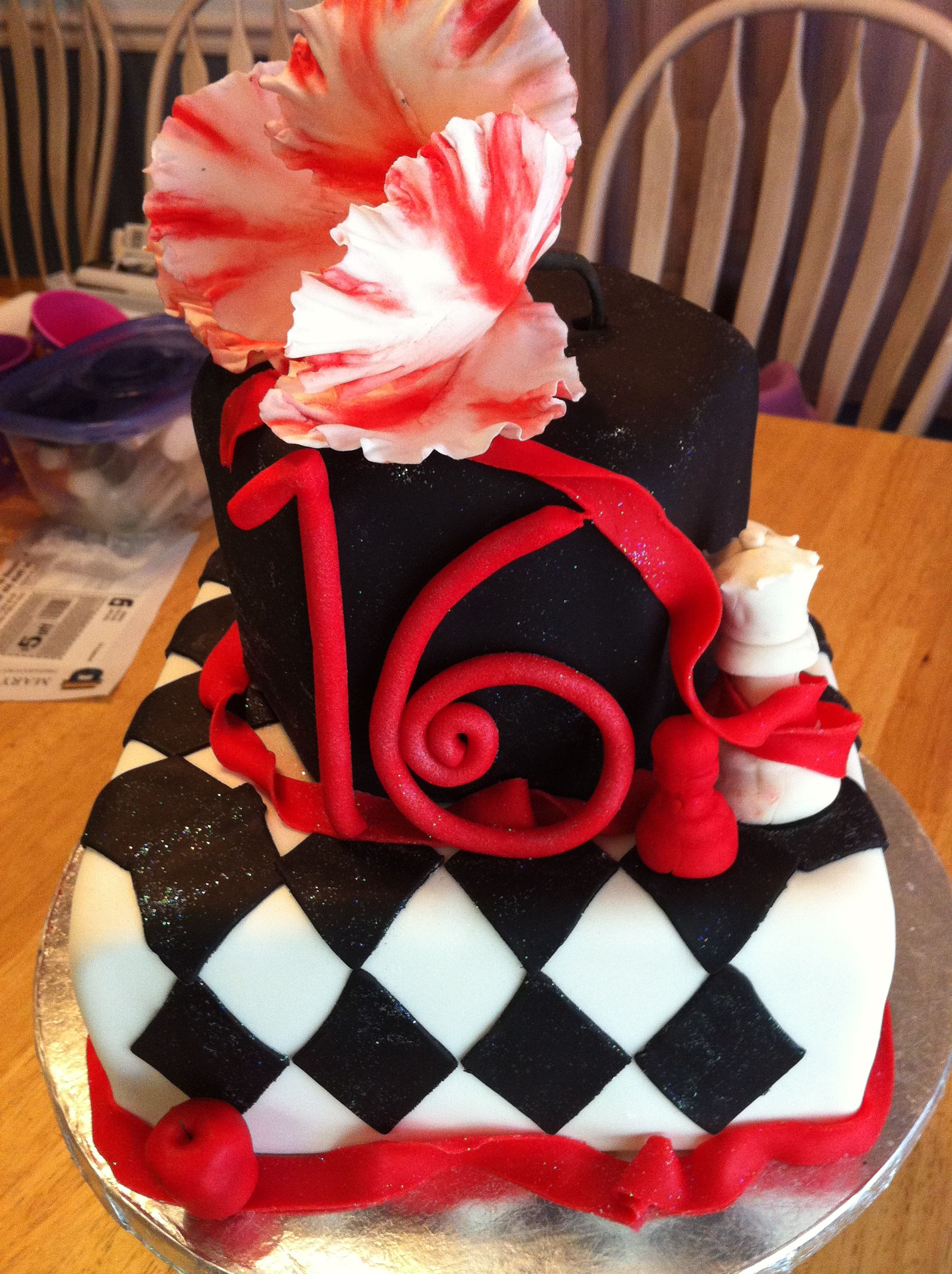 Twilight 16th Birthday Cake