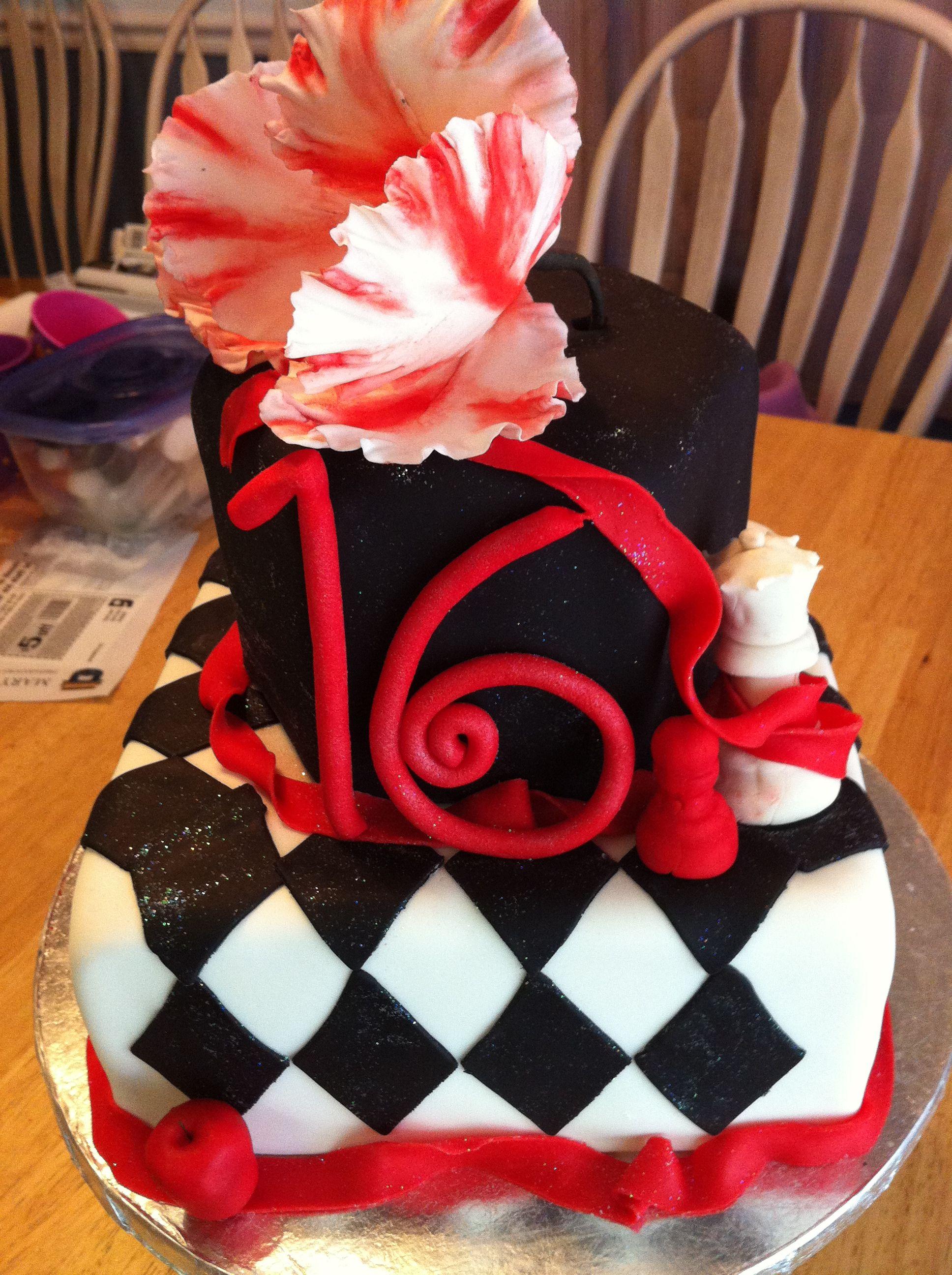Twilight 16th Birthday Cake