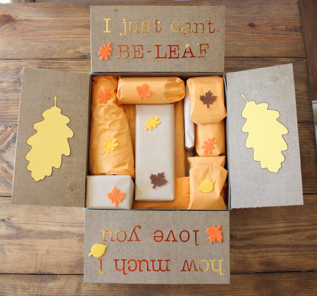 Fall Care Package Care Packages Themes Fall Care