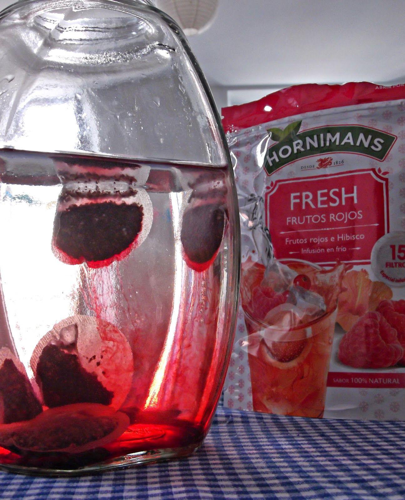 Coffee-break | Té helado de Frutos Rojos e Hibisco (Hornimans 'Fresh')