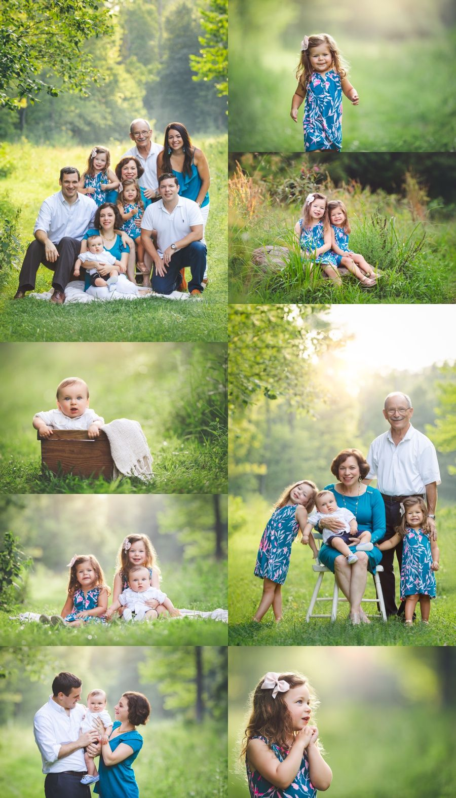 Willowsford, VA extended family portraits by Rebecca Danzenbaker. Cousins and siblings family photography in Ashburn, VA. #cousins #siblings #rebeccadanzenbakerphotography #familyphotography #summerphotography #ashburnfamilyphotography #willowsfordphotographer #loudounfamilyphotographer #extendedfamilyphotography