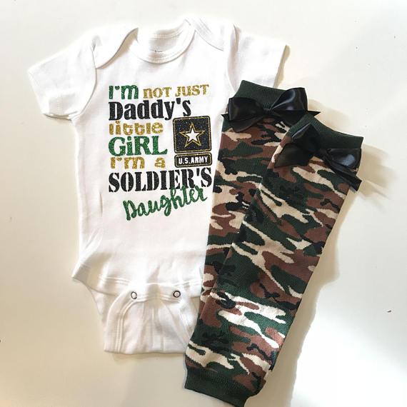 US Coast Guard baby tee shirt infant one piece body suit digital camo