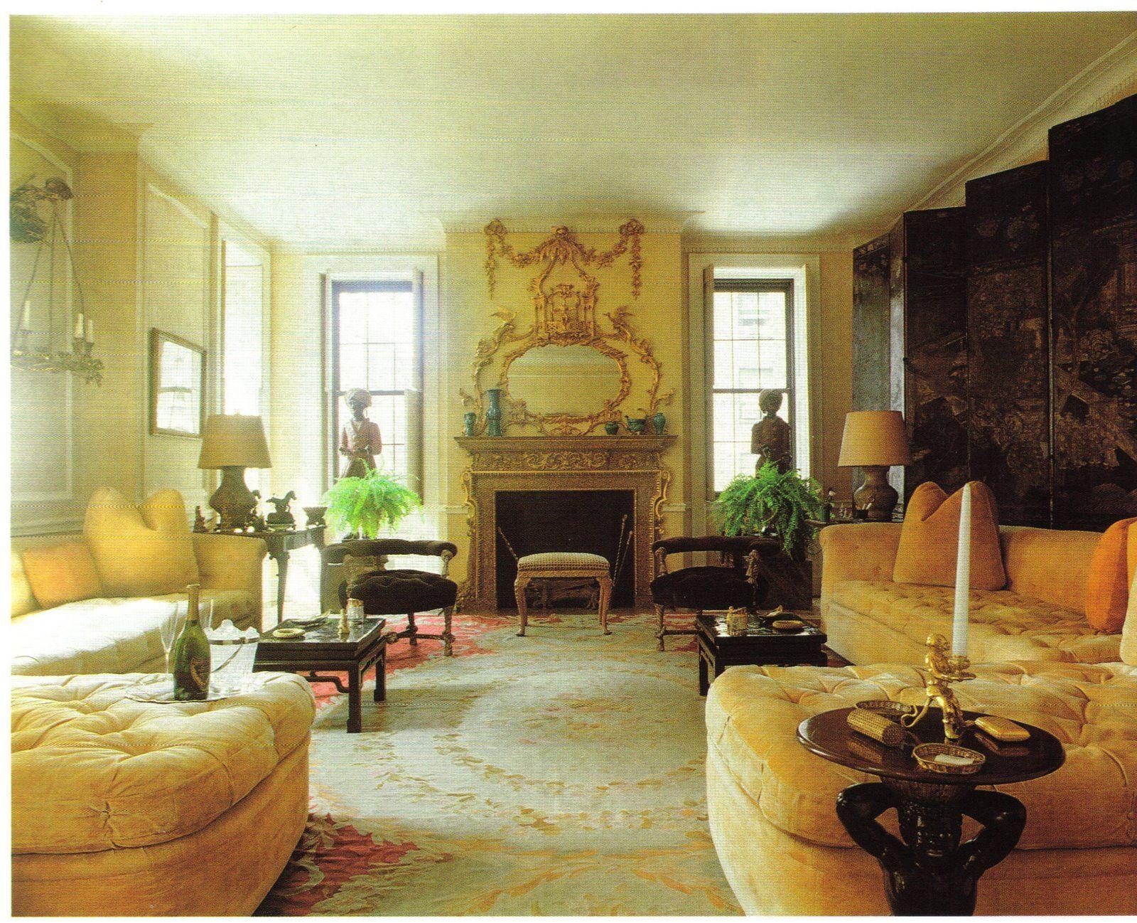 Nan Kempner employed Michael Taylor to decorate her Manhattan ...